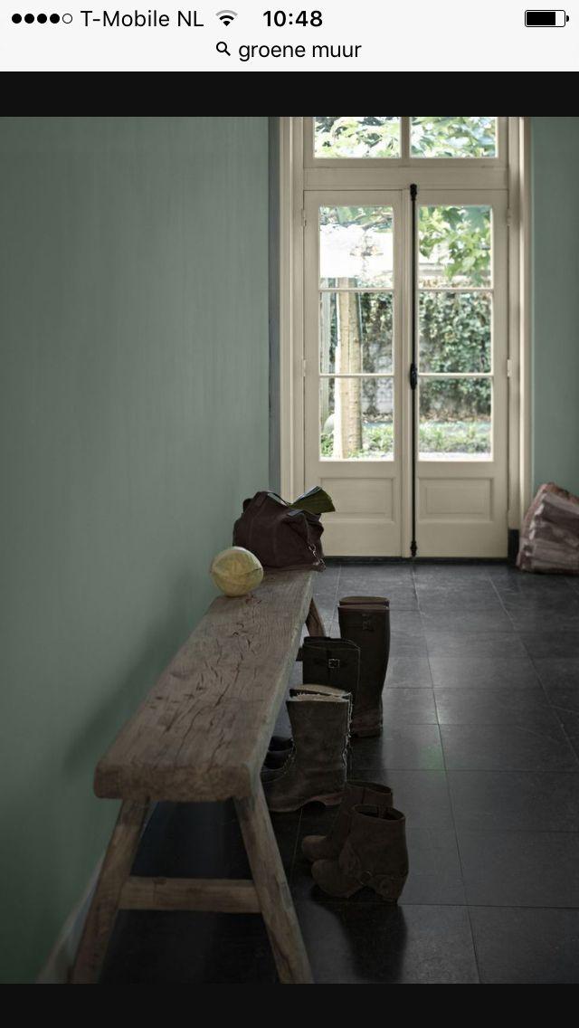 17 beste idee n over groene verfkleuren op pinterest groen geschilderde kamers groen - Deco muur volwassen kamer ...