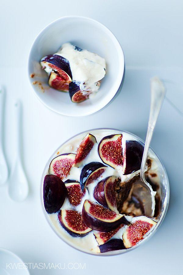 tiramisu with figs