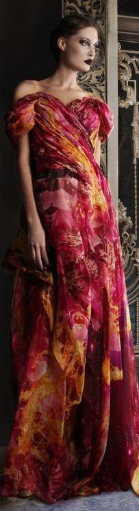Rami Kadi Couture S/S 2013