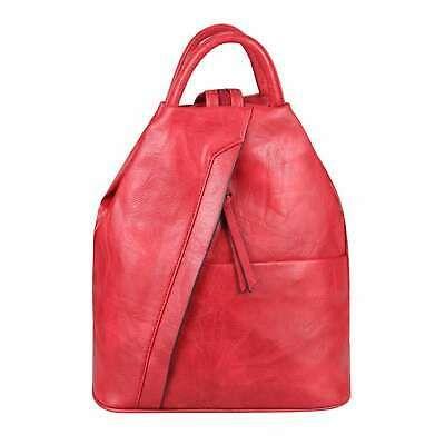 DAMEN RUCKSACK Tasche Schultertasche Leder Optik Daypack Backpack Handtasche Bag… – Italyshop24.com
