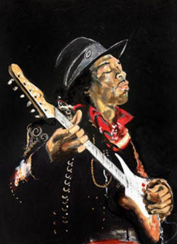 National Wildlife Galleries: The Rocking Art Of Ronnie Wood Of The Rolling Stones