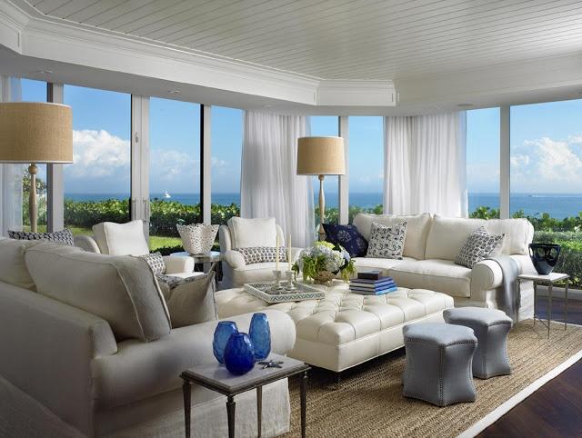 Beach House Living Room Dream Home Pinterest