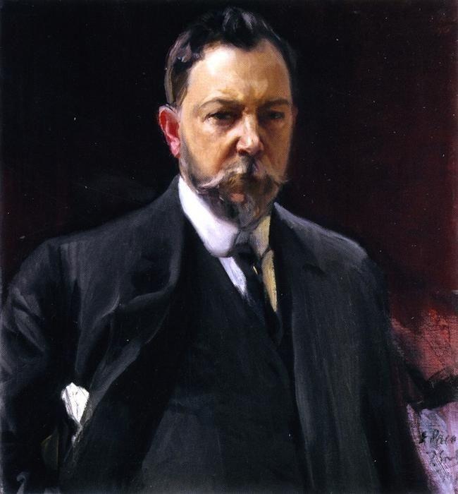 Joaquín Sorolla - Autorretrato de 1915