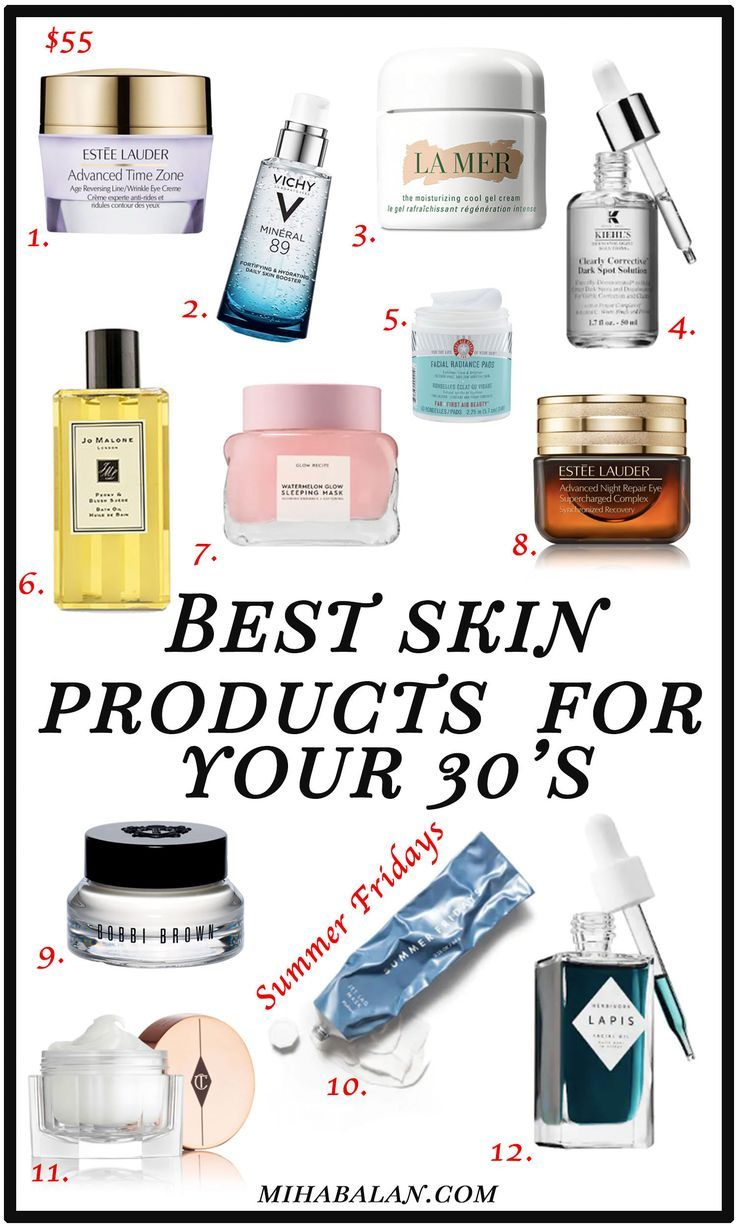 4 Ways To Deal With Your Skin In Your 30 S And The Best Products For It Good Skin Best Skincare Products Anti Aging Skin Care