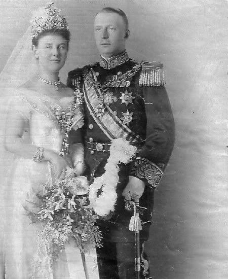 Wedding of Queen Wilhelmina of the Netherlands and Duke Heinrich of Mecklenburg-Schwerin - 1901.