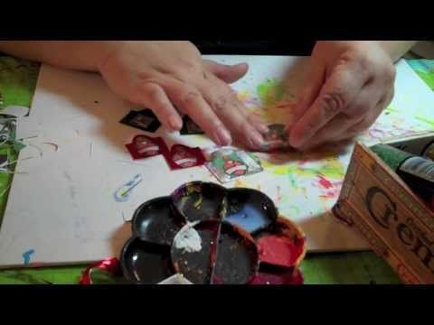 ▶ Copy of HOW TO: Easy Tin Earrings || DIY Jewelry Project - YouTube