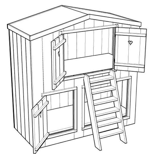 Zelf een meubel maken, is vaak nog leuker dan een meubel kant-en-klaar aanschaffen. Bovendien heb je dan de kans om het meubel helemaal aan je eigen wensen aan te passen. Maar hoe maak je bijvoorbeeld een loungebank voor in de tuin of een een bedstee voor de kinderkamer? Heel eenvoudig: met een bouwtekening van Bouwtekeningetje.nl!