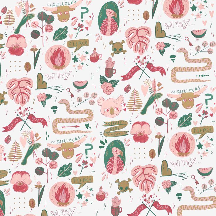 Pattern @jessillustrates