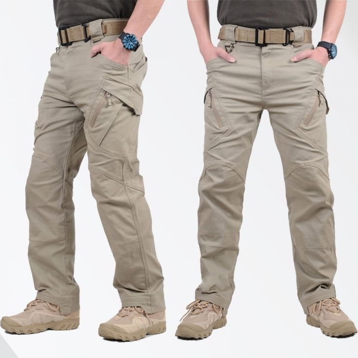Army Military Pants Cotton Many Pockets Stretch Flexible Man Casual Trousers XXXL