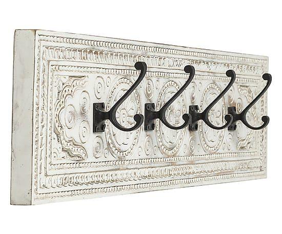 Appendiabiti da parete in legno Finca - 10x80x20 cm