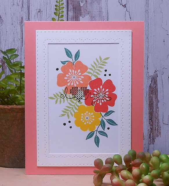 Superior Card Making Ideas Gina K Part - 3: Todayu0027s Card Was Created Using Images By Gina K. Designs Sentimental  Bouquet And A Sentiment From An Older Retir.