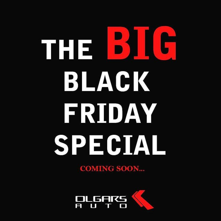 The BIG #BlackFriday special is on the way! Are you ready?