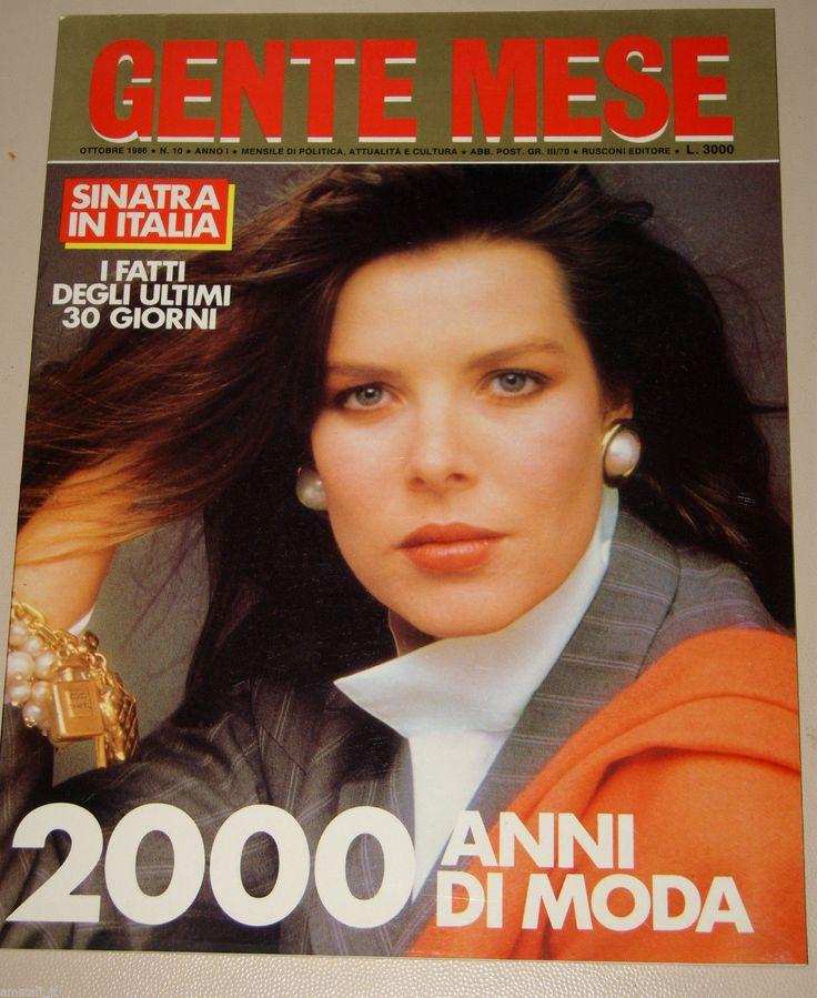 GENTE MESE=1986/10=CAROLINE DE MONACO=2000 ANNI DI MODA VOGUE FASHION= | eBay
