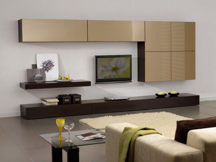 Навесные шкафы для гостиной - современное решение - http://mebelnews.com/mebel-dlya-gostinoy/navesnye-shkafy-dlya-gostinoj-sovremennoe-reshenie.html