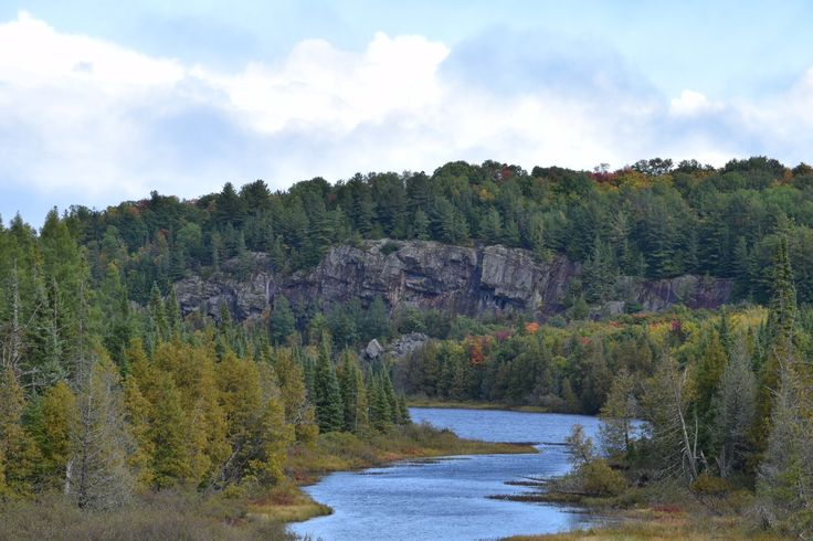 The great view on the road to cottage. Pinned by girlfriendgetaway.ca