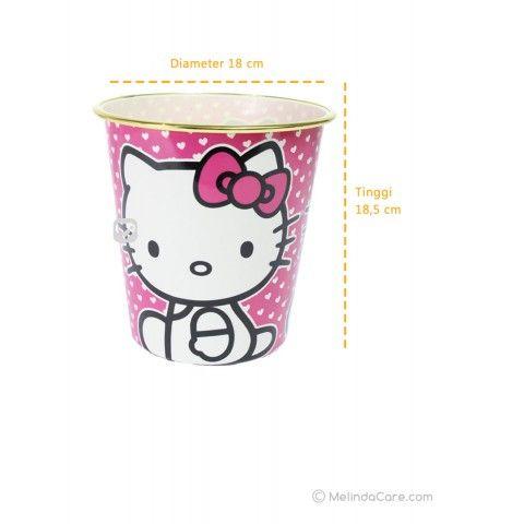 Tempat Sampah Unik Karakter Hello Kitty (Small) Rp. 15.000  kunjungi: www.melindacare.com hubungi: 081321148408 atau 765BEE5E