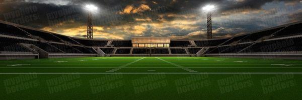 Digital Background Home Field Football Panoramic Digital Background Panoramic Image House