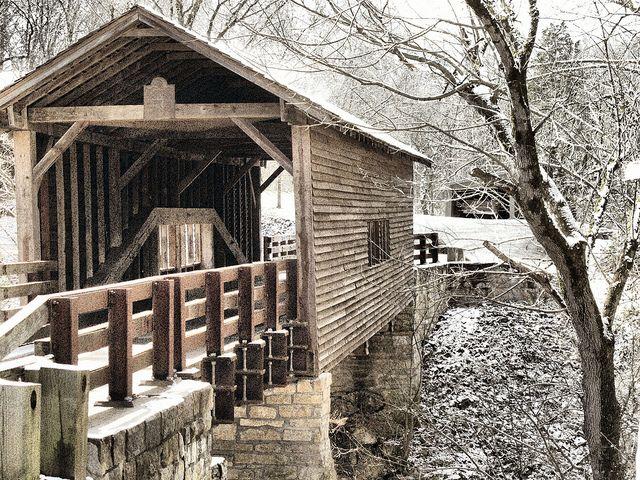 Harrisburg Covered Bridge, Harrisburg Tennessee