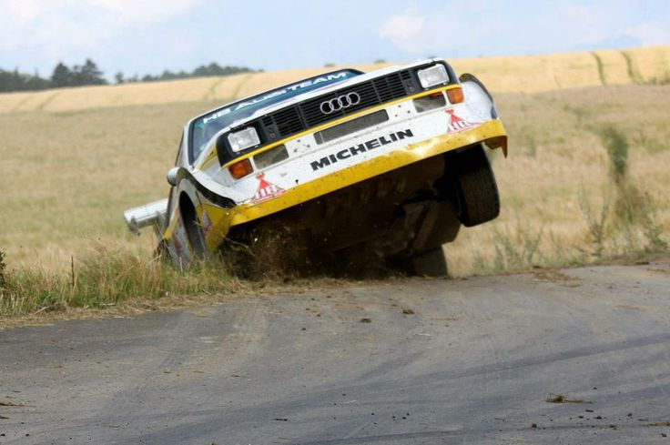 Audi Quattro S1 rally car - Group B