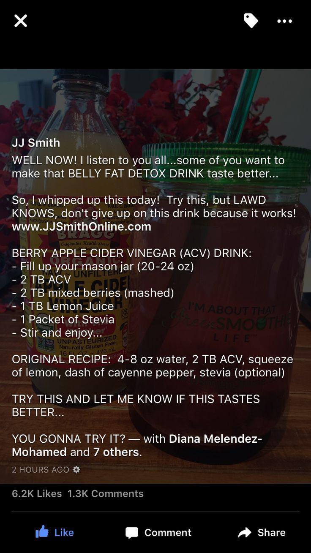 JJ Smith Cleanse Juice