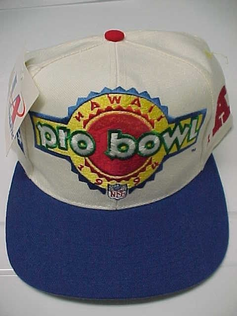 1994 NFL PRO BOWL Hawaii One Size Snapback Baseball Cap Logo Athletic New  Tag  LogoAthletic 6c466ec1a