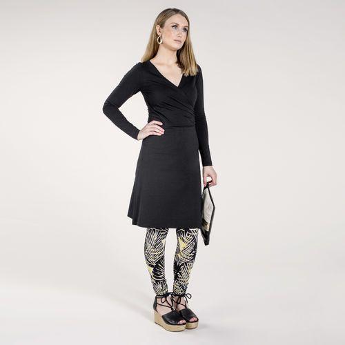 LUMO leggings, musta - harmaa | Kevään naisten uutuudet ovat nyt saatavilla. Tutustu naisten mallistoon nosh.fi/lookbookWOMEN (This collection is available only in Finland.)