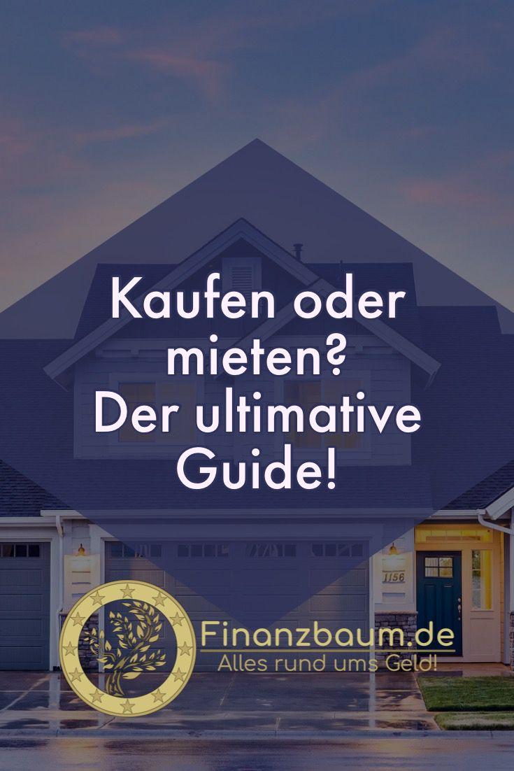 Immobilie kaufen oder mieten? (mit Bildern) Immobilien