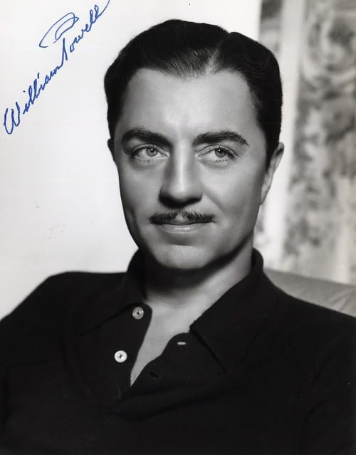 William Powell - Handsome and humorous. Dangerous combination.