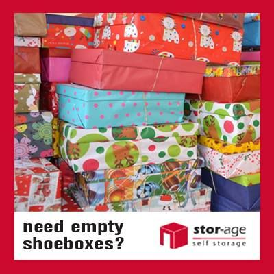 Stor-Age supports the Santa Shoebox project by providing free shoeboxes at many of our branches across South Africa.
