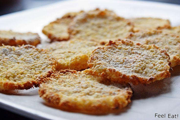 Feel Eat!: Dietetyczne wege ciasteczka z kaszy jaglanej i wiórków kokosowych (bez jajek)
