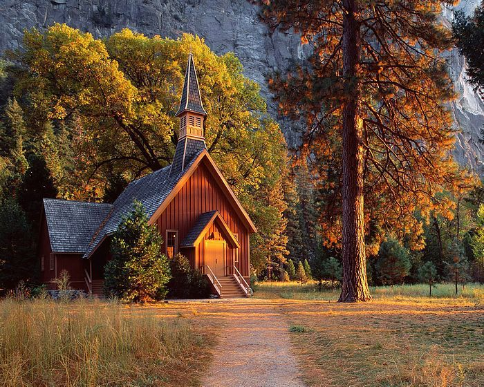 A Chapel in the mountains.