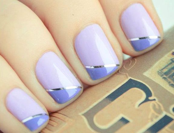 10 Super Easy Pastel Nail Art Designs For Prom
