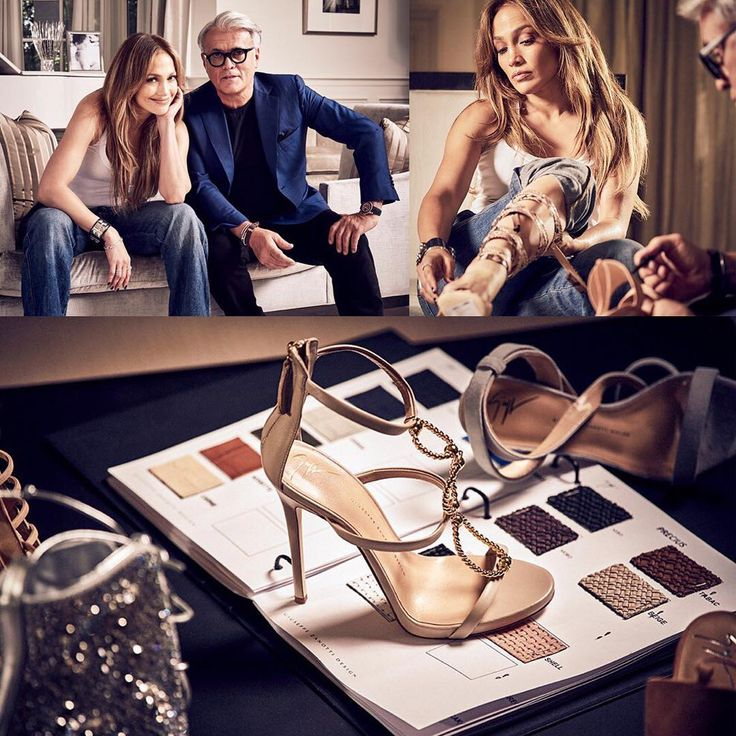 Дженнифер Лопес и Джузеппе Дзанотти создали вместе коллекцию обуви Безупречные босоножки от знатоков  Подробная…