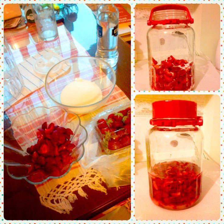strawberry liqueur❤️
