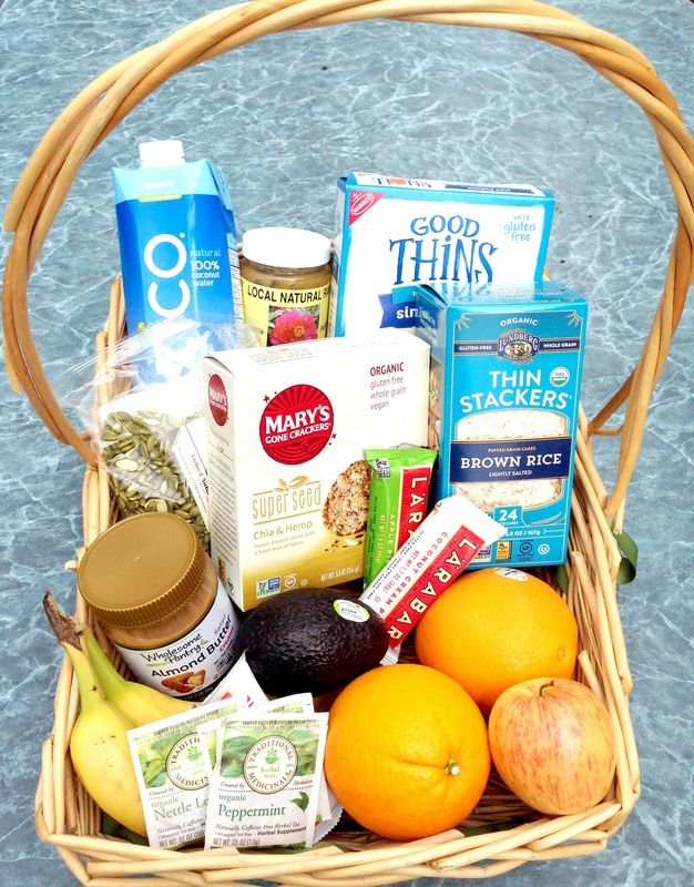 Healthy Living Gift Basket