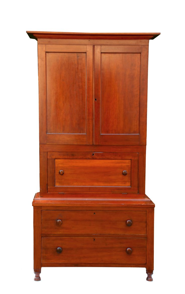 Antique shaker chairs - Trustee S Desk Cherry Poplar Secondary Wood Natural Varnish Finish Double Applied Beveled Moldings Shaker Furnitureantique