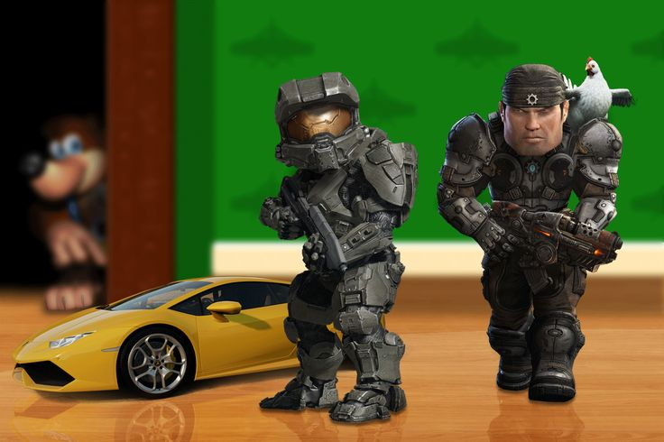 Gears of War and Halo series - Children Markus and Master :-)