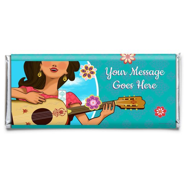 Princesa Personalized Candy Bar Wrapper from Birthday in a Box is the perfect touch to your Princesa party