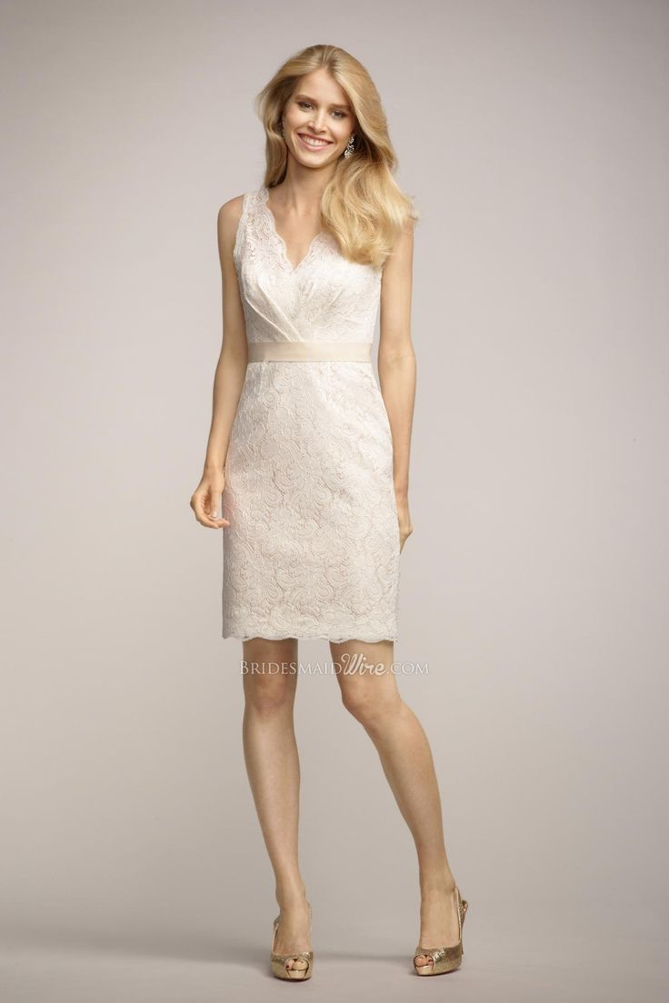 26 best White Bridesmaid Dresses images on Pinterest   Bridal gowns ...