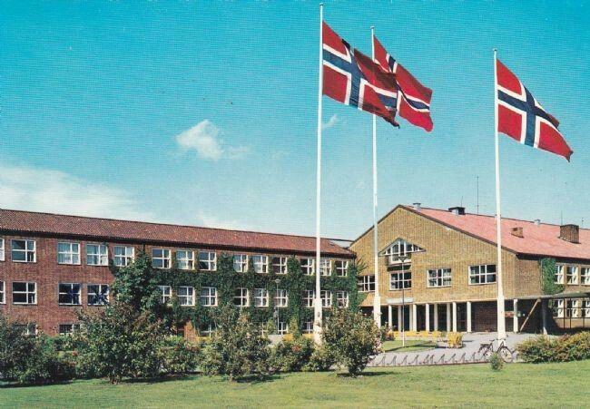 Akershus fylke Skedsmo kommune Lillestrøm Gymnas