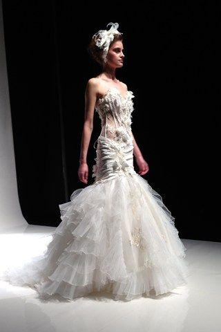 Anna Romysh Haute Couture at  London Bridal Show 2014 – Show Report & Photos (BridesMagazine.co.uk) (BridesMagazine.co.uk)