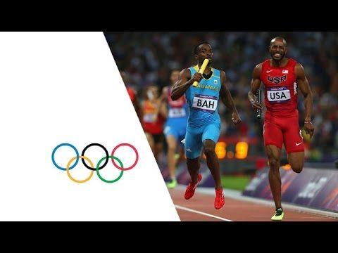 Bahamas Win Men's 4 x 400m Relay Gold - London 2012 Olympics - YouTube