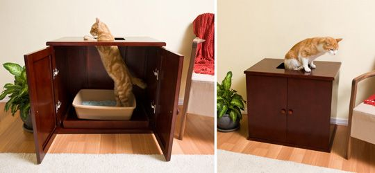 """diy dog proof litter box   Out of Kitty's Business with the New """"Dog Proof"""" Litter Box ..."""