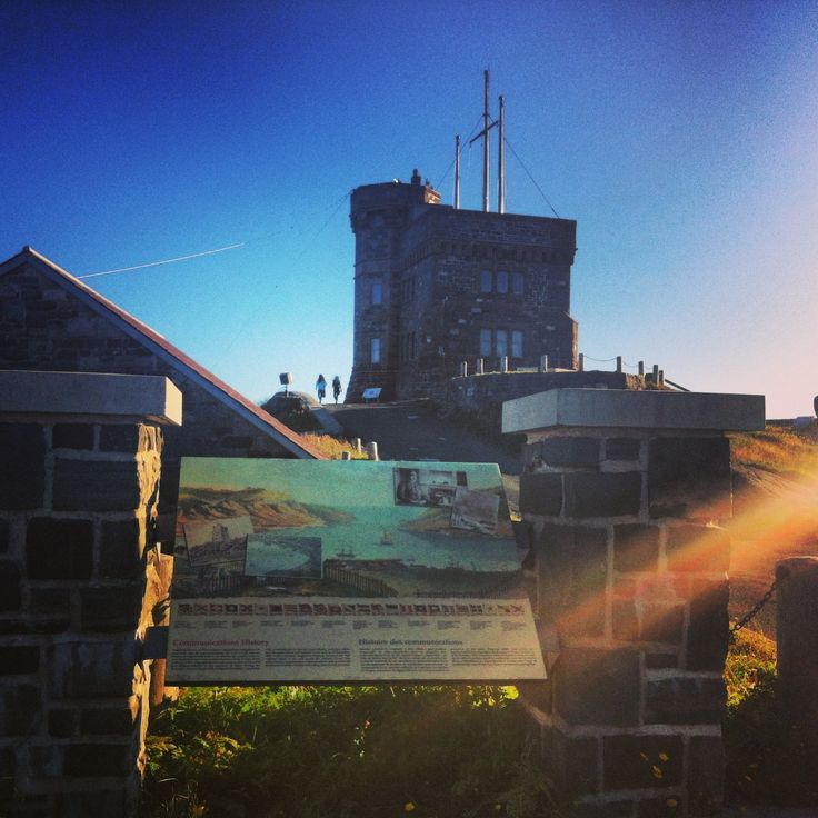 Cabot Tower on Signal Hill St. John's
