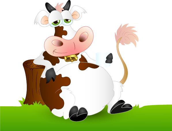 1000+ images about Clipart cow on Pinterest | A cow, Animales and ...