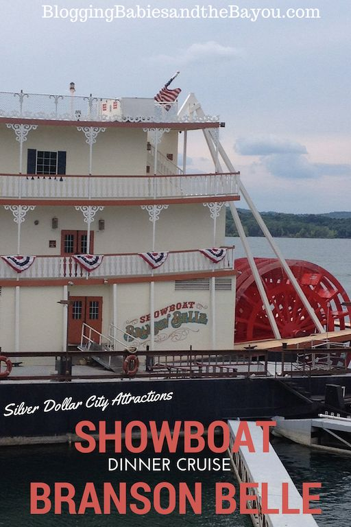 The Showboat Branson Belle - Silver Dollar City Attractions #ExploreBranson #BayouTravel
