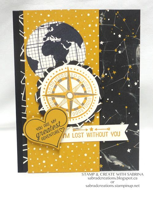 Stamp & Create With Sabrina: Sneak Peek - Going Places DSP & Going Global Series - Part 4