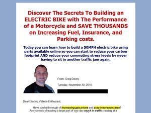 Fast Electric Bike - Diy 50mph Electric Bike