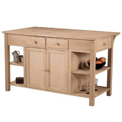 Whitewood Wc 6034 Kitchen Island Super Kitchen Island With
