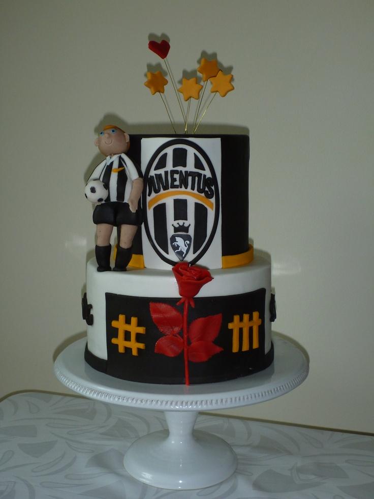 Juventus & Depesh Mode Birthday Cake
